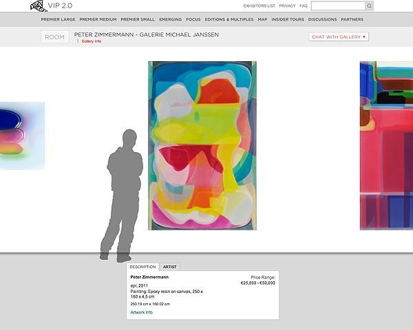 VIP Art Fair 2.0: la feria como base de datos